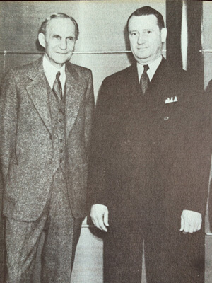 Henry Ford and Fred Jones, 1940
